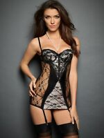 Fredericks of hollywood ARAXIE CHEMISE WITH PEARLS WITH THONG