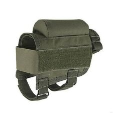New Tactical Buttstock Cheek Rest +Ammo Carrier Case Holder for .300 .308 Winmag