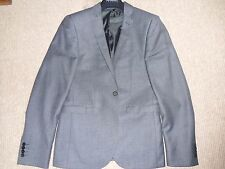 MENS GREY SINGLE BREASTED SUIT in excellent condition  JACKET 36R TROUSERS 30R
