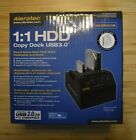 "Aleratec 1:1 HDD Copy Dock USB 3.0 For Windows, Mac, and Linux 2.5"" & 3.5"" SATA"