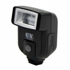 YINYAN CY-20 Hot Shoe universal Flash PC Sync Port Mini GN20 5600K speedlite UK