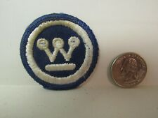 Vtg. Small Westinghouse Electric Corporation Patch