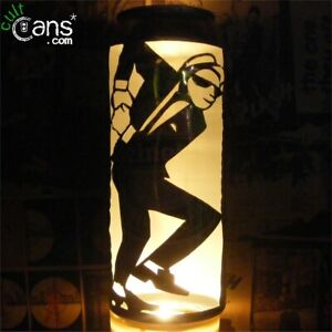 2 Tone Beer Can Lantern! Ska, The Specials, Pop Art Lamp - Unique Gift!