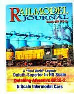 Railmodel Journal 2000 November - Duluth Superior in HO, FMC X-Post 50' Box Cars