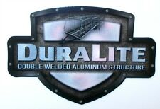 2 RV TRAILER EVERGREEN DURALITE LOGO GRAPHICS DECALS-L-62