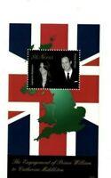 Nevis - 2011 - Royal Engagement of Prince William - Souvenir Sheet  - MNH