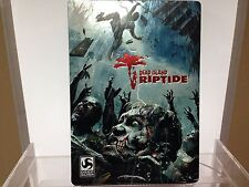 ** Dead Island Riptide Steelbook case ~ CASE ONLY ~ No Game