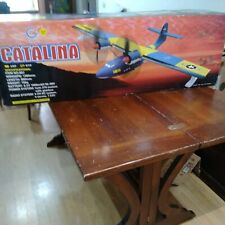 AEREO PLANE RC CATALINA with RADIO SYSTEM 4 CH RC ITEM 607 GUANLI  LIKE NEW