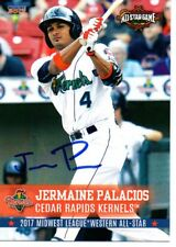 Jermaine Palacios 2017 Cedar Rapids Kernels Midwest All Star Game Signed Card