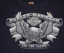 Harley Davidson Motorcycles Ride the Legend T-shirt L Greenville SC Biker HD