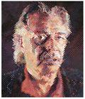 "Chuck Close 1998 ""John"" Signed 48/80"