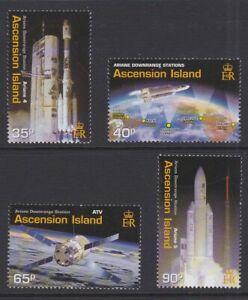 ASCENSION 2003 Ariane Downrange station MINT set sg867-870 MNH