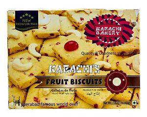 Karachi Fruit Biscuit - Premium, 400 g (pack 2) free shipping world