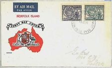 POSTAL HISTORY -  NORFOLK : FDC cover 1956