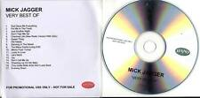 Mick Jagger PROMO CD ALBUM Very Best Of ROLLING STONES