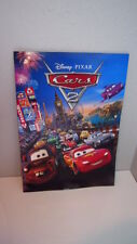 Original Limited CARS 2 Poster Set RARE Disney Pixar Animated Racing Movie Film