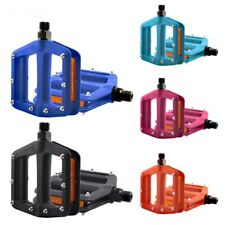 Nylon Bicycle Pedals Ultralight Mountain Bike Pedal 9/16'' Cycling Flat Platform