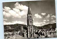 Freiburg Schwarzwald Germany Munster Cathedral Vintage Photo 4x6 Postcard D74