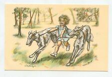 Germaine BOURET   Dog Greyhound  Chien Lévrier  Hund Windhund