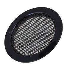 Black 2.36'' Dia Dobro Guitar Resonator Screen Speaker Grille Sound Hole Cover