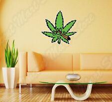 "Weed Marijuana Ganja Pot Grass Smoking Wall Sticker Room Interior Decor 22""X22"""