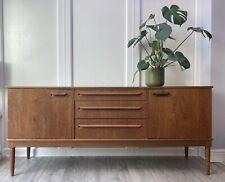 More details for vintage retro mid century danish era 1960s modernist teak long sideboard cabinet