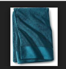 Set of 2 Fieldcrest Egyptian Cotton Hand Towels 16x30 - Heir Blue Nwt New