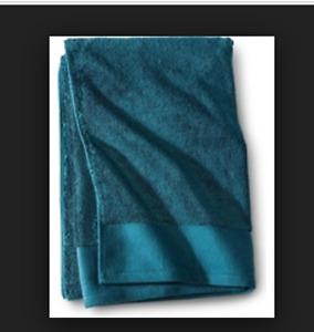 SET of 2 Fieldcrest Egyptian Cotton HAND Towels 16x30 - Heir Blue NWT NEW