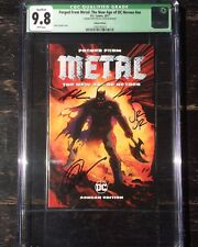 Dark Nights Metal: Forged From Metal: #nn Ashcan CGC 9.8 SIGNED X4 Capullo Lee