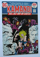 Kamandi, The Last Boy on Earth! #8 (DC 8/73) VF Jack Kirby story/art. Nice!!