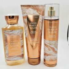 Bath & Body Works Warm Vanilla Sugar Collection