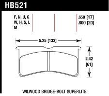 Hawk Performance HB521F.800 Brake Pads- Organic