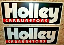 2 - Holley Carburetors - Original Vintage 1970's 80's Racing Decal/Sticker - New