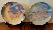 2 Dreamsicles Hamilton Plates -- By the Light of the Moon & The Flying Lesson
