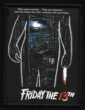 Jason FRIDAY THE 13th Cult Classic Horror Film Monster Movie Collectors Patch