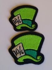 Disney Alice In Wonderland inspired Mad Hatter Hat Patch SMALL