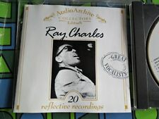 RAY CHARLES ~ GOLD Disc CD Audio Archive Historical COLLECTORS Edition Tring UK