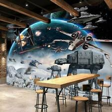 Wall Paper 3D Outer Space Wars Mural For Kids Bedroom High Quality Decor Sticker