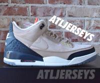Nike Air Jordan 3 Retro JTH NRG Bio Beige Tinker Timberlake AV6683-200 Size 8-14