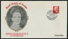 Denmark 547 on Cover - Queen Margrethe Ii