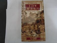 THE WEST - THE SPECK OF THE FUTURE VHS NEW KEN BURNS