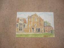 Artist Postcard-FAWSLEY HALL HOTEL-Northamptonshire-Nick Essex-Unposted