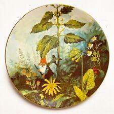 Rien Poortvliet Gnomes Four Seasons Summer Gnome de Bloom Collector Plate