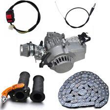 Mini Pocket Bike Engine 49cc 47cc Engine Mini Dirt Bike Mini Quad Chain Cable