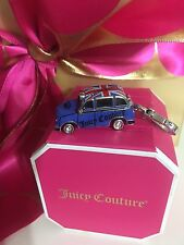 NIB NWT JUICY COUTURE ENGLISH TAXI CAB Necklace  Bracelet CHARM BRITISH