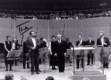 PIERRE BOULEZ Conductor & Composer signed photo