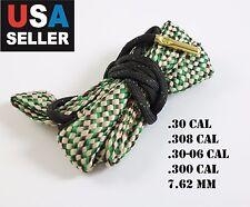 Boresnake .30 .308 .30-06 7.62 , AK-47 Gun Rifle Cleaner Bore Snake Cleaning Kit