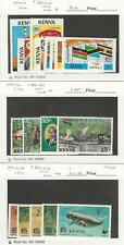 Kenya, Postage Stamp, #56-63, 84-87, 89-93 Mint NH, 1976-77 WWF Animal, JFZ