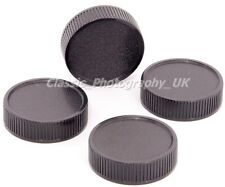 Set of FOUR M42 fit Rear Lens Caps for ZEISS Pentax Meyer-Optik Gorlitz Lenses