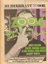 MAGAZINE OOR 1975 nr. 11 - KINKS/URIAH HEEP/KEITH RICHARDS/ELTON JOHN (COVER)